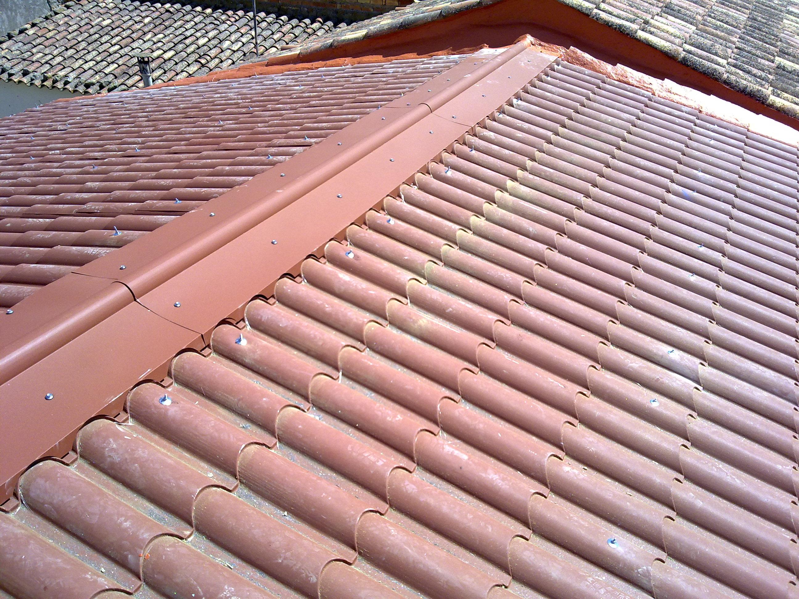 Panel imitacion teja materiales de construcci n para la - Chapa imitacion teja ...